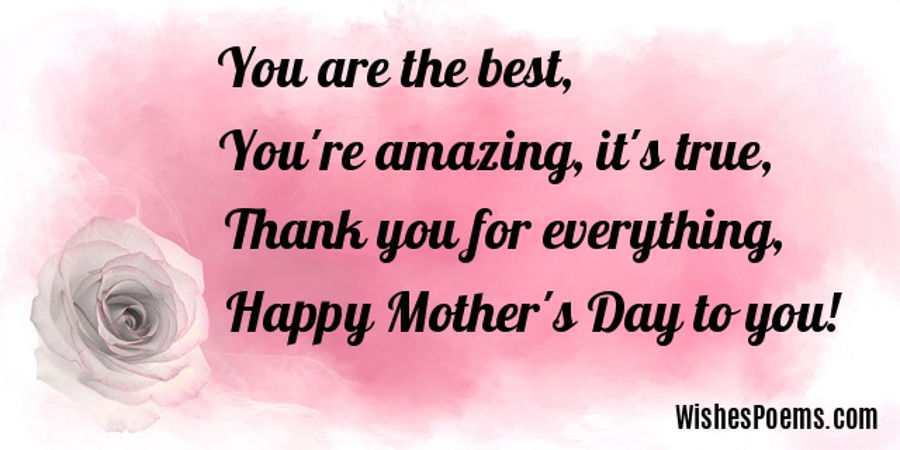 Happy Mother S Day Poems Poems For Mother S Day