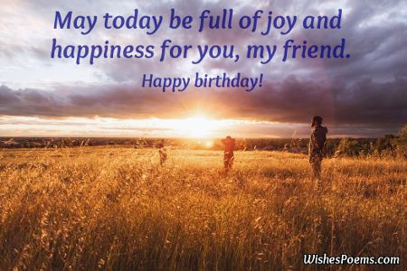 birthday wishes for friends wishes poems