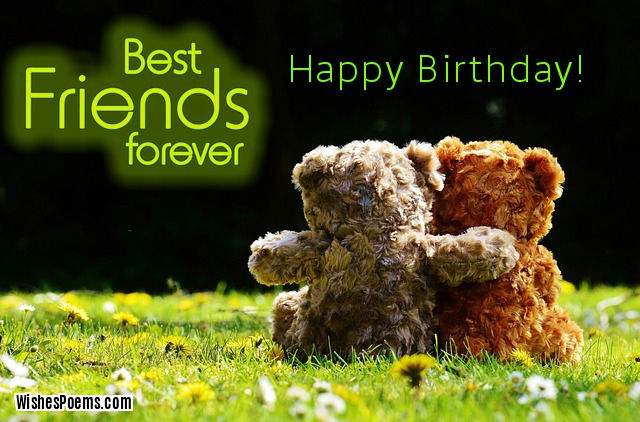 Happy Birthday Best Friends ~ Special happy birthday wishes for best friend