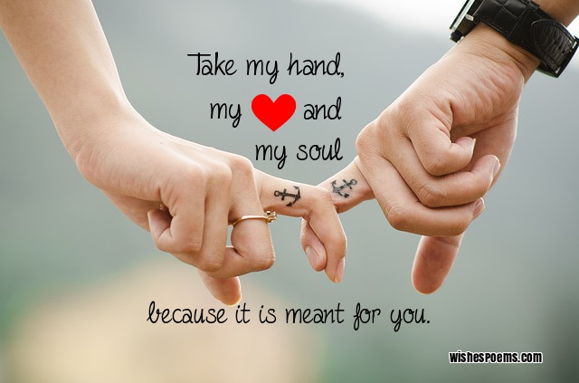 Want to be with you forever messages