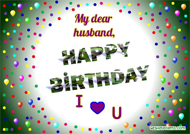Image of: Gifs Romantic Birthday Wishes For Husband Wishes Poems 100 Birthday Wishes For Husband Happy Birthday Husband