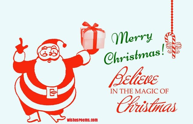 merry christmas images santa claus