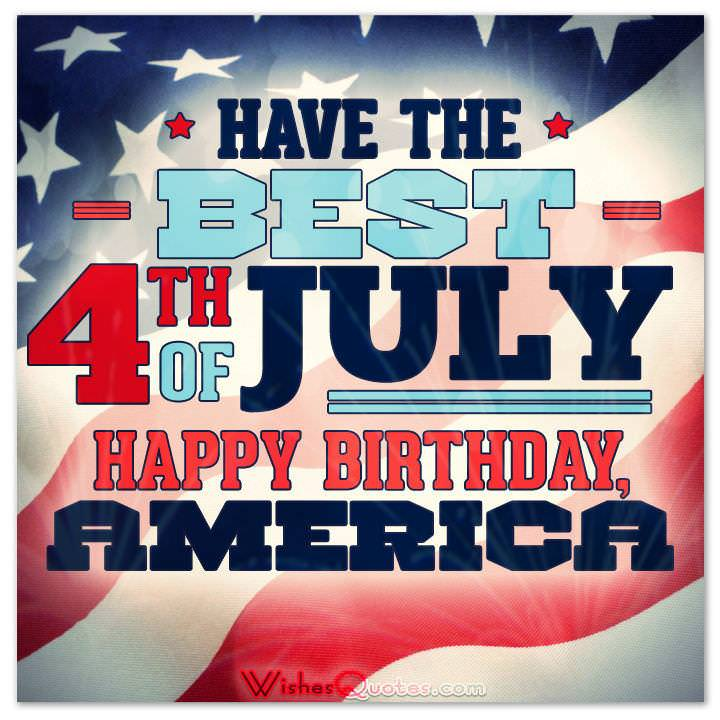 4th Of July Messages And Independence Day Greetings