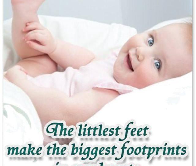 Adorable Newborn Baby Quote