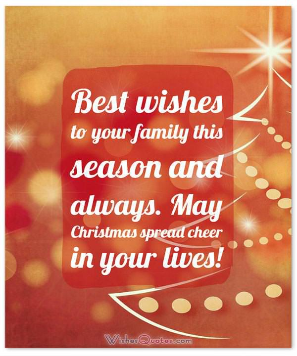 Christmas Messages For Friends And Family WishesQuotes