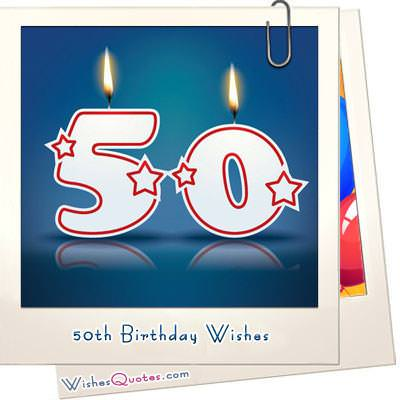 Inspirational 50th Birthday Wishes And Images