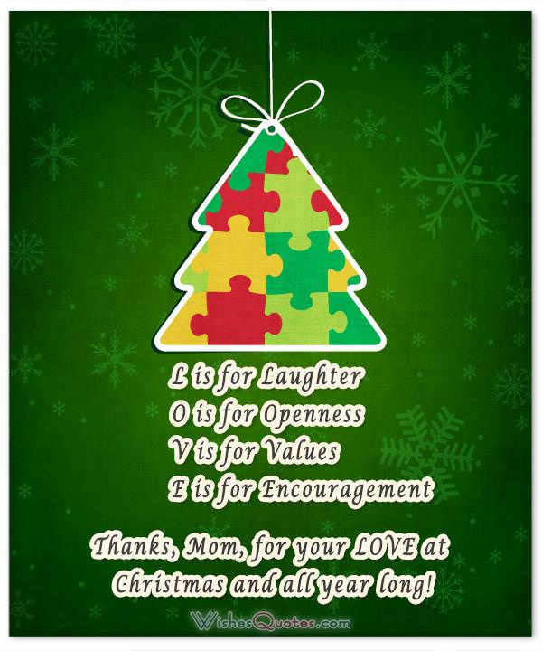 20 Heartfelt Christmas Wishes For Special Moms WishesQuotes