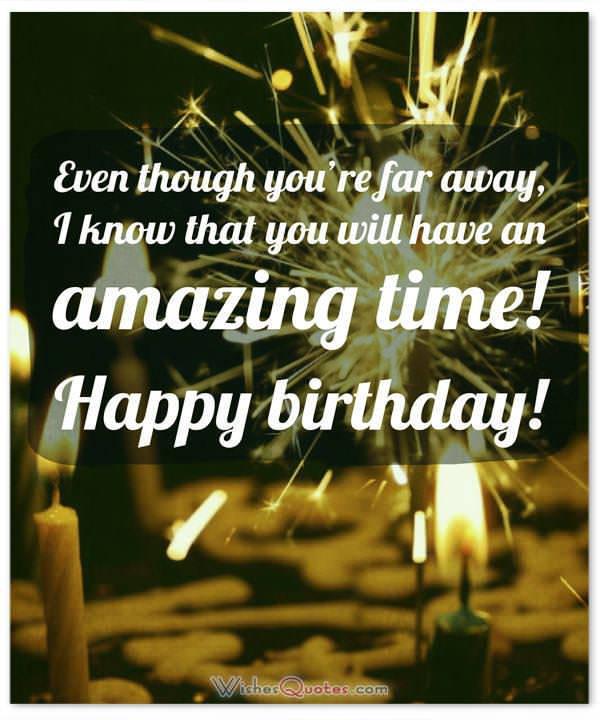 Happy Birthday Far Away Friend Images