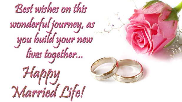 Happy Married Life Wishes Images Hd Pictures Marriage Wishes
