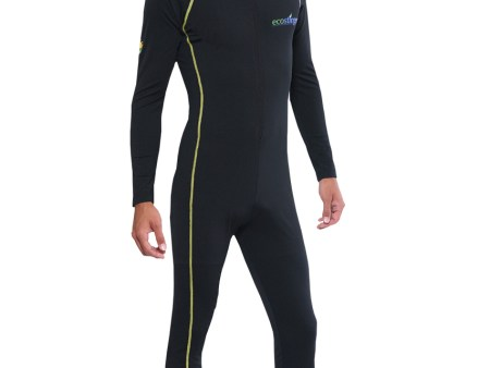 Mens UV Swimsuit With Hood Dive Skin UPF50+ Gold Chlorine Resistant