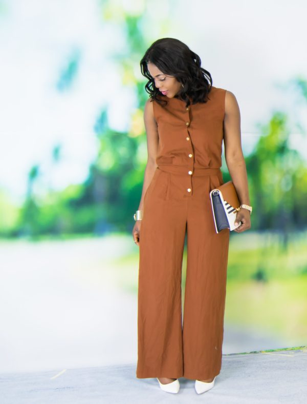 jumpsuit in spring