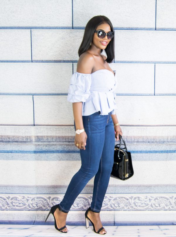 sweetheart ruffled top