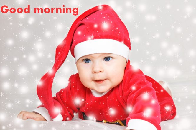 Cute Baby Pics Saying Good Morning Nemetasaufgegabeltinfo
