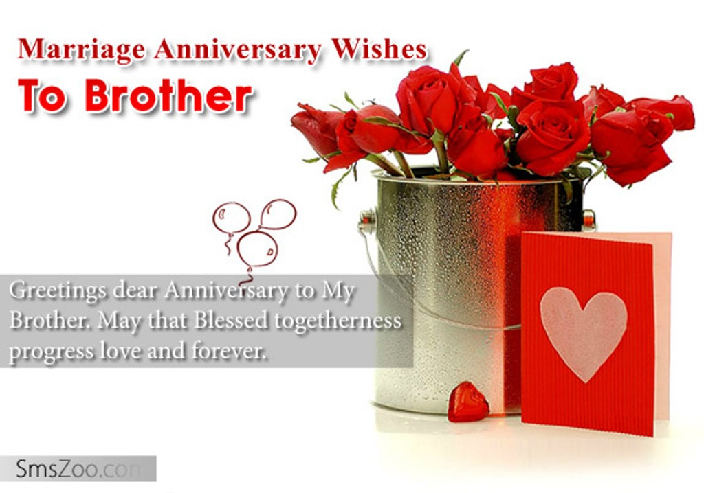 Marriage Anniversary Wishes To Brother Wishes Greetings Pictures Wish Guy