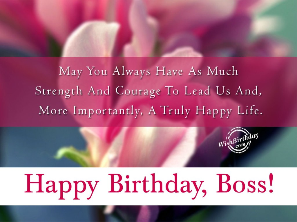 Birthday Wishes For Boss Wishes Greetings Pictures Wish Guy