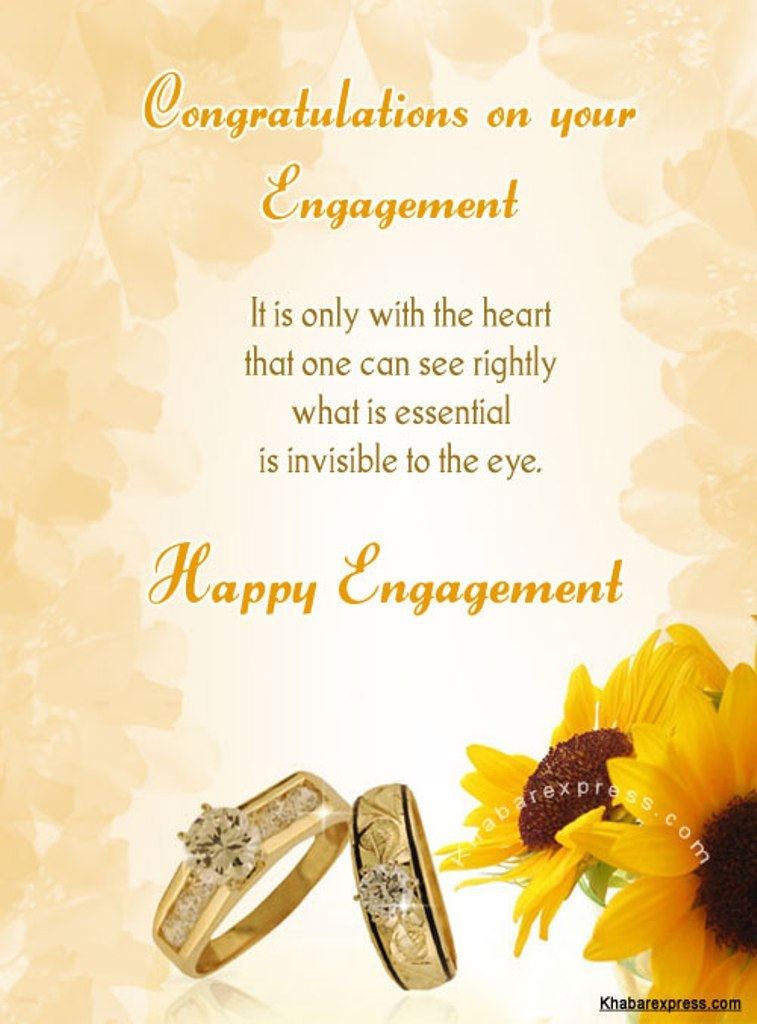 Engagement Wishes Wishes Greetings Pictures Wish Guy
