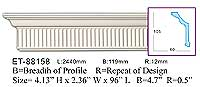 ET-88158 Crown Molding