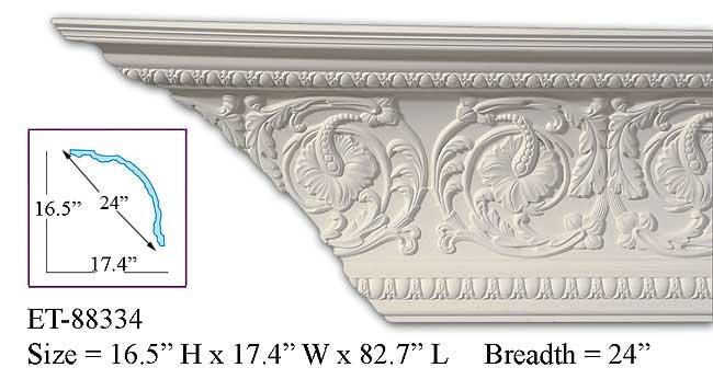 ET-88334 Crown Molding