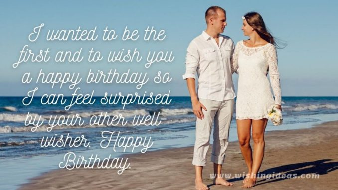 happy birthday pic for lover