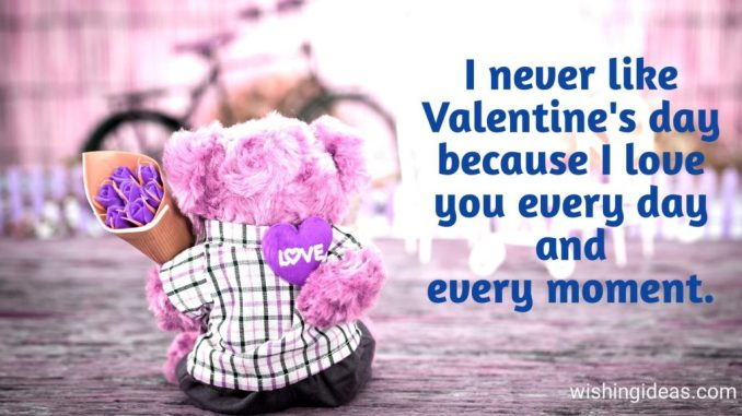 Valentine Day Messages for Lover