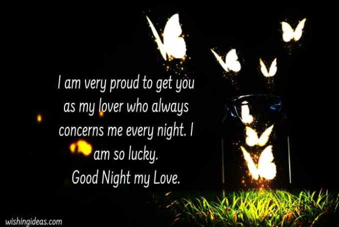 Romantic Good Night Messages for Lover