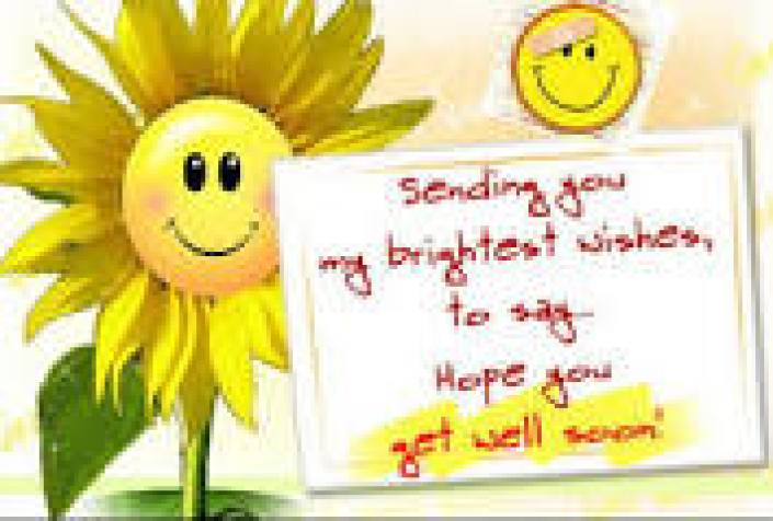 Get Well Soon Get well soon message