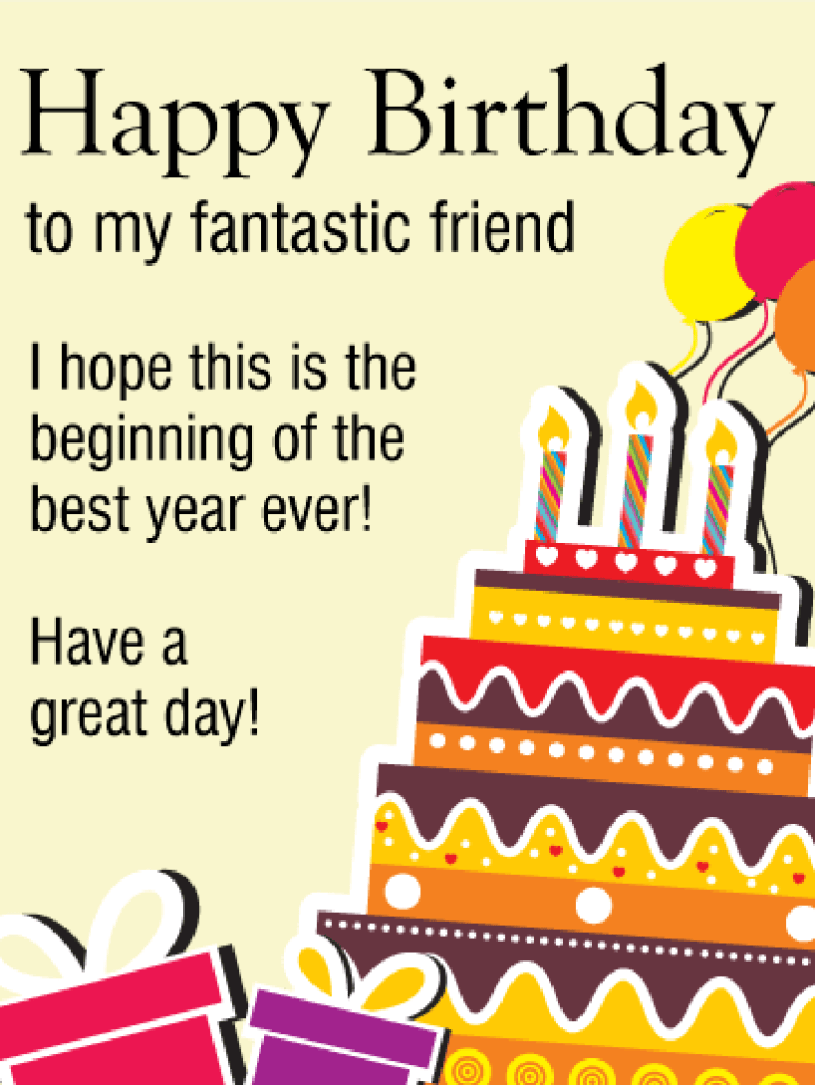 Birthday Quotes Messages to a Friend