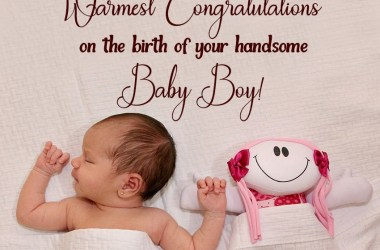 congratulations message for baby boy