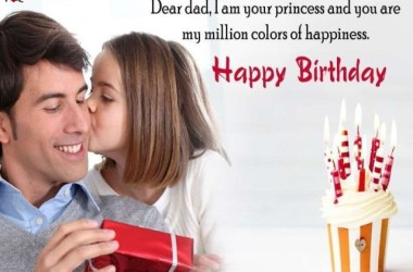 Happy Birthday Dad From Daughter Letter
