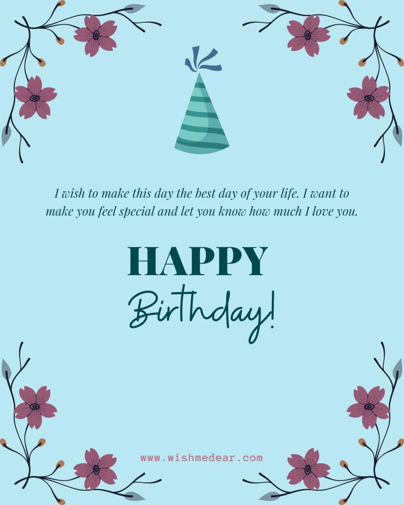 happy birthday girlfriend card