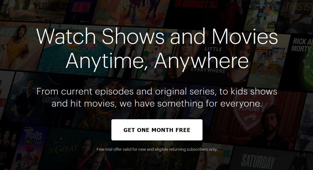 Hulu Un mois gratuit