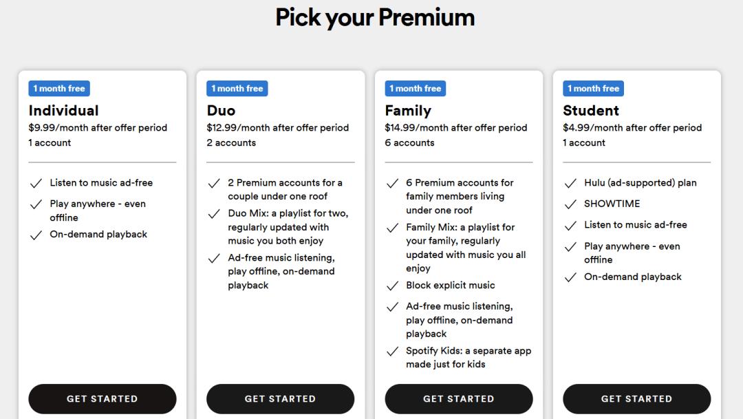 Package Spotify Bundle