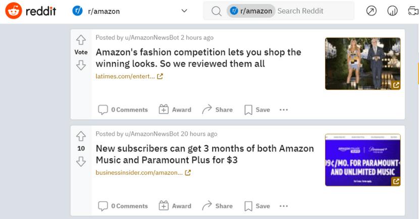 r/Amazon