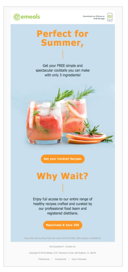 emeals Resource email