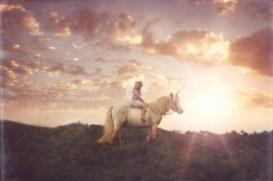 Contoured Natural-Look Unicorn Horn™ - Photo © Dalton Portrait Co.