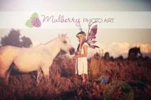 Unbridled Unicorn Horn™ - Photo © Mulberry Photo Art (Australia)