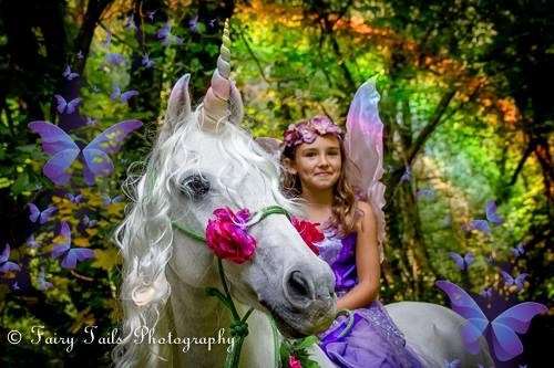 Unbridled Unicorn Horn™ for Horses & Ponies - Photo © Fairy Tails Photography (Somerset, UK)