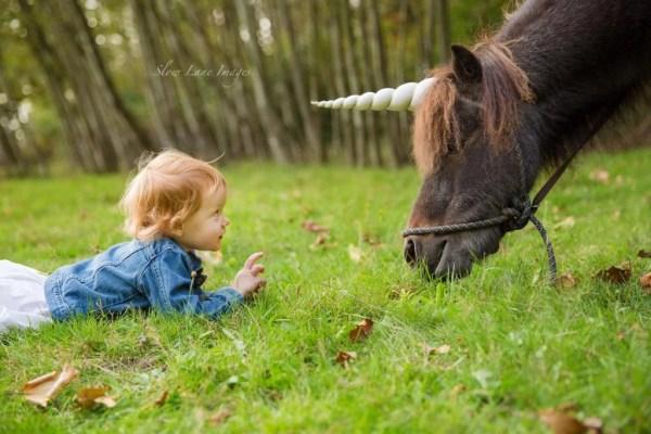Natural-Look Unicorn Horn™