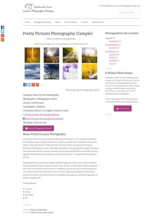 Unicorn Photographer Profile