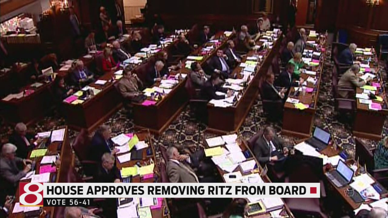Bill to remove Ritz as chairman of the State Board of Education passes House