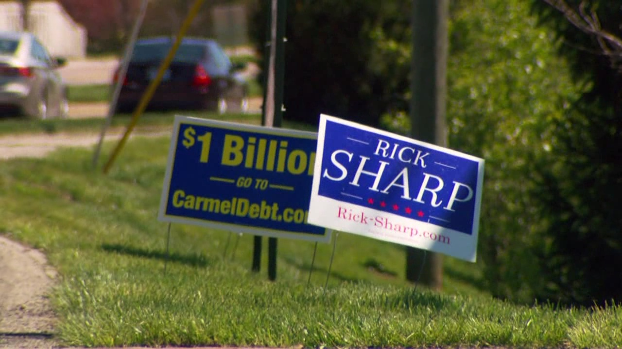 Carmel mayoral candidates at odds over city's debt