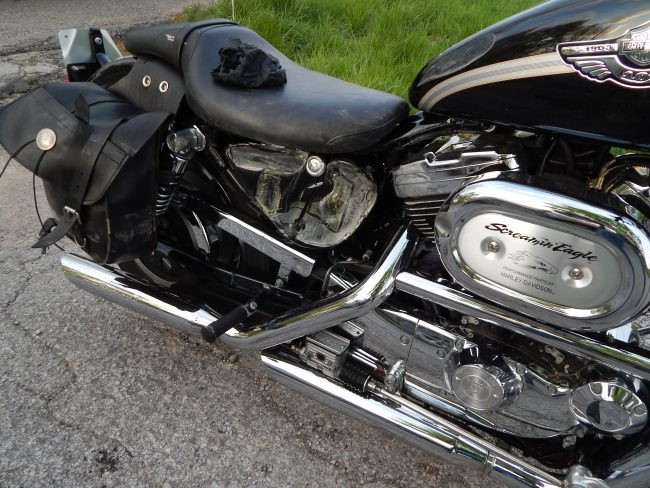Harley Davidson crash_627744