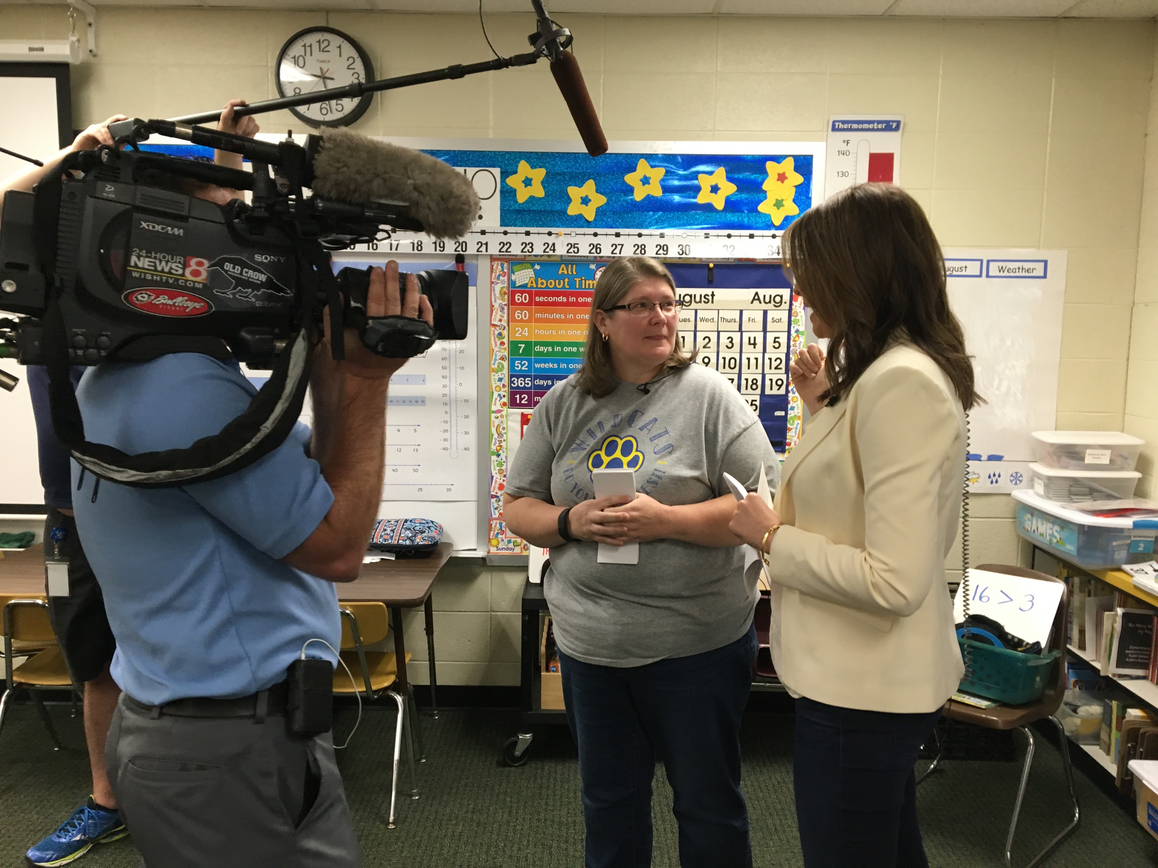 Nominated by her children, WISH Patrol surprises Central Indiana teacher_706989