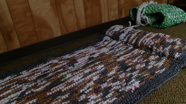 Sleeping mats destined for homeless around Wabash Valley. (Provided Photo_WTWO)_720831