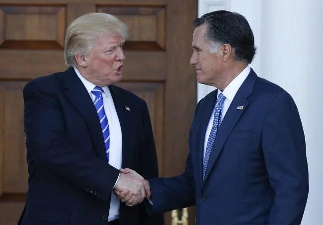 Mitt Romney, Donald Trump_527404