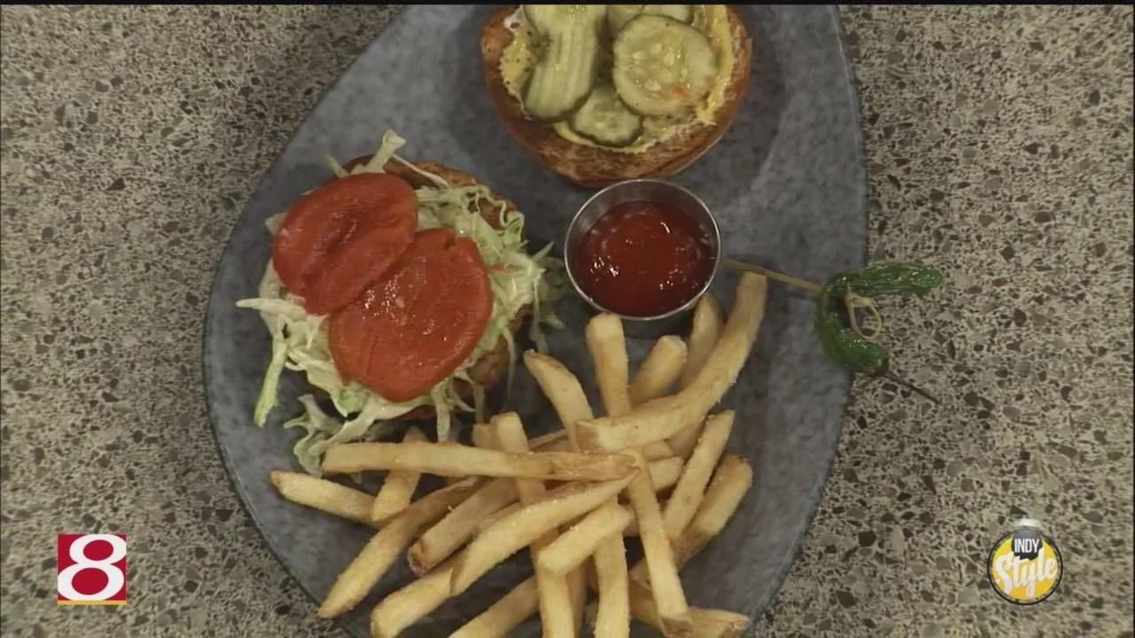Chef Greg Hardesty cooks up his famous Spoke Burger