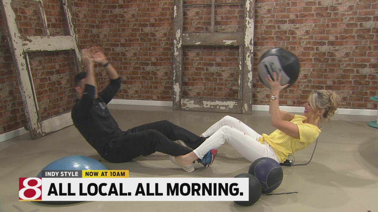 Firefighter Tim shows you how to keep the ball rolling to fitness