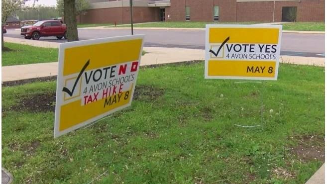 Avon_Schools_referendum_signs_vandalized_1_20180504031128