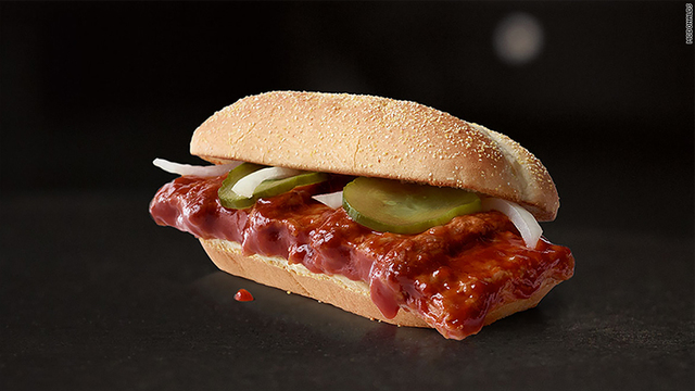 McDonald's is finally bringing back the McRib