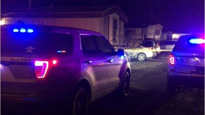 Police looking for suspect who shot into a home in Tipton